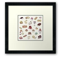 Cup Cakes & Bakery Framed Print