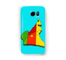 Cameroon Map With Flag of Cameroon Samsung Galaxy Case/Skin