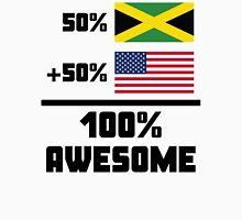 Awesome Jamaican American Unisex T-Shirt