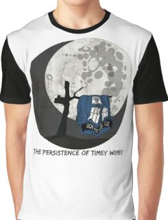 The Persistence of Timey Wimey Grunge Graphic T-Shirt