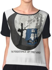 The Persistence of Timey Wimey Grunge Chiffon Top