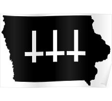 Satanic Iowa Poster