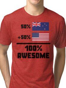 Awesome Kiwi American Tri-blend T-Shirt