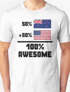 Awesome Kiwi American Unisex T-Shirt