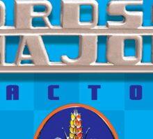 Fordson Major Vintage Farm Tractors  Sticker