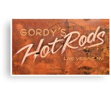 Gordy's Hotrods Canvas Print