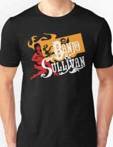 Banjo & Sullivan gold, white, red Unisex T-Shirt