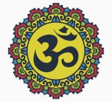 Mandala - Circle Ethnic Ornament One Piece - Short Sleeve