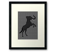 Horphant Framed Print
