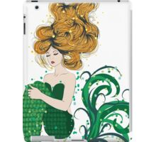 Sleeping Mermaid iPad Case/Skin