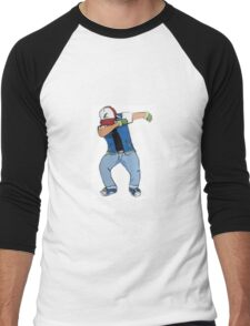 Ash Ketchum Dab Men's Baseball ¾ T-Shirt