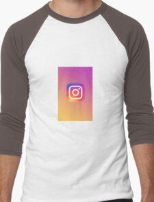 Instagram Men's Baseball ¾ T-Shirt