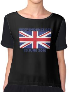 UK Independence Day, 23 June 2016, Brexit Chiffon Top