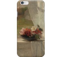 Flowers on a Window Ledge iPhone Case/Skin