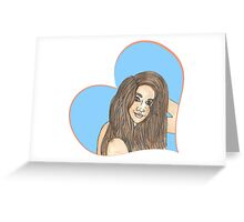 Earth Angel Greeting Card