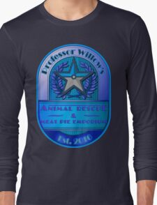 Prof. Willow's Animal Rescue & Meat Pie Emporium (Mystic) Long Sleeve T-Shirt