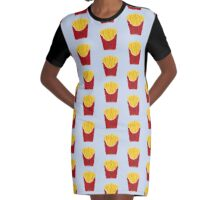 FRIES BEFORE GUYS Graphic T-Shirt Dress