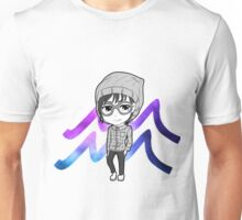 Zodiac- Aquarius Unisex T-Shirt