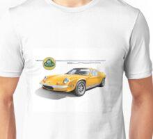 Lotus Europa Vintage British Classic Car Unisex T-Shirt