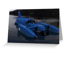 Bluebird K7  Greeting Card
