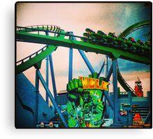 Hulk Coaster Canvas Print