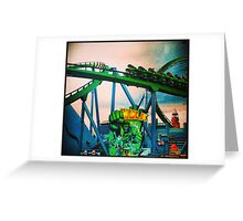 Hulk Coaster Greeting Card