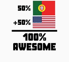 Awesome Portuguese American Unisex T-Shirt