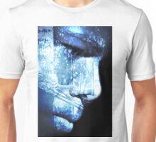wonder in blue Unisex T-Shirt