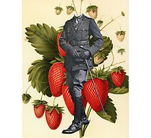 Major Strawberry Photographic Print