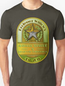 Prof. Willow's Animal Rescue & Meat Pie Emporium (Instinct) Unisex T-Shirt