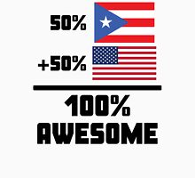 Awesome Puerto Rican American Unisex T-Shirt