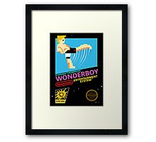 Stephen Wonderboy Thompson UFC 8-bit  Framed Print