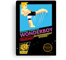 Stephen Wonderboy Thompson UFC 8-bit  Canvas Print