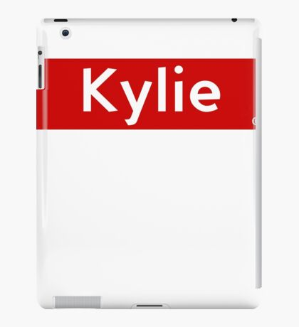 Kylie iPad Case/Skin