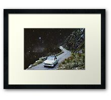 Soft Shoulder Framed Print