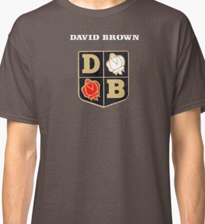 David Brown Vintage Tractors UK Classic T-Shirt