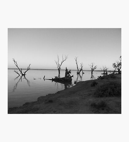 Lake Bonney Photographic Print