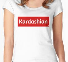 Kardashian Women's Fitted Scoop T-Shirt