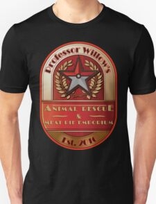 Prof. Willow's Animal Rescue & Meat Pie Emporium (Valor) Unisex T-Shirt