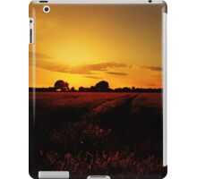 MY SUNSET TONIGHT FROM THE YORKSHIRE DALES iPad Case/Skin