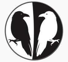 Huginn and Muninn Publishing Logo - Odin's Ravens Kids Tee