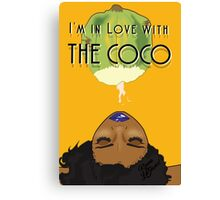 I'm in Love with the CoCo Canvas Print