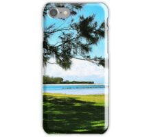 Quiet Beach Days iPhone Case/Skin