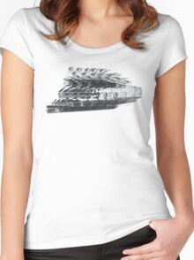 World's Fastest Indian Women's Fitted Scoop T-Shirt