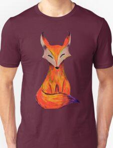 The foxy fox in acrylic Unisex T-Shirt