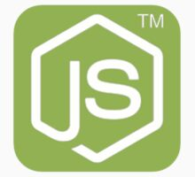 Node JS Sticker by inspiring