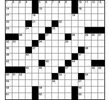 Crossword Photographic Print