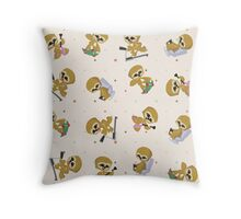 Cute Sloths pattern Throw Pillow