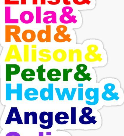 Broadway Pride Sticker