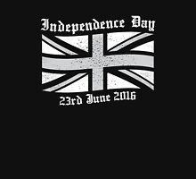 UK Independence Day 23 June 2016  Women's Fitted Scoop T-Shirt